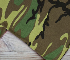 Woodland Camo – Big Bandana
