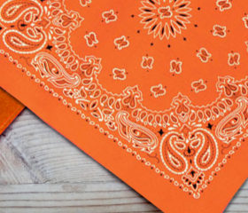 Work Orange – Big Bandana