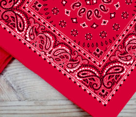 Red - Big Bandana