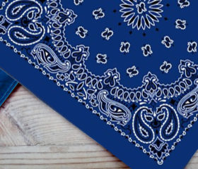 Royal Blue - Big Bandana
